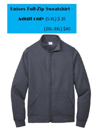 zip up sweatshirt photo
